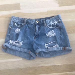 Articles of Society Distressed Jean Shorts